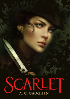 Review of Scarlet by A.C. Gaughen published by Bloomsbury