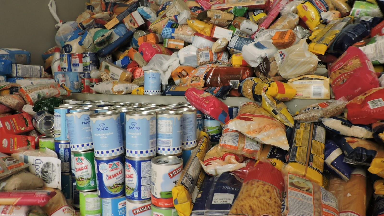 cine-Μαθήματα:Τρεις τόνοι τροφίμων σε προνοιακές δομές των Χανίων