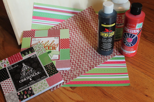 Christmas Tray Design Supplies