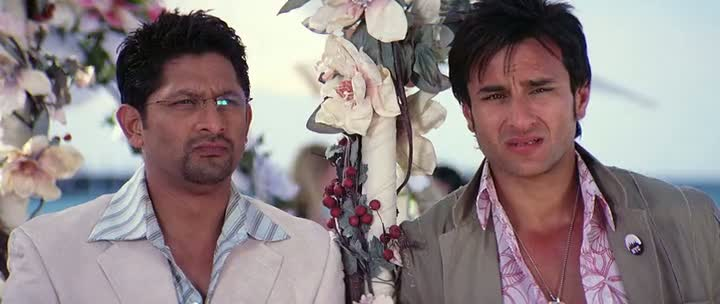 Screen Shot Of Hindi Movie Salaam Namaste 2005 300MB Short Size Download And Watch Online Free at worldfree4u.com