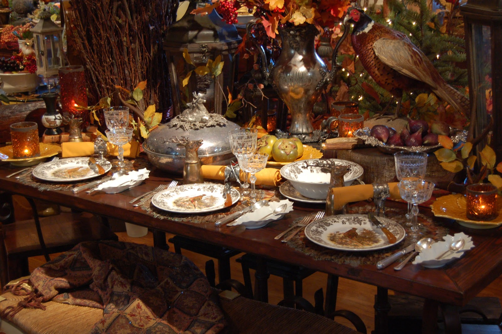 #C1800A Today's Treasure By Jen: Festive Hunt Table And Photo Shoot 5271 decoration table noel mauve 1600x1064 px @ aertt.com