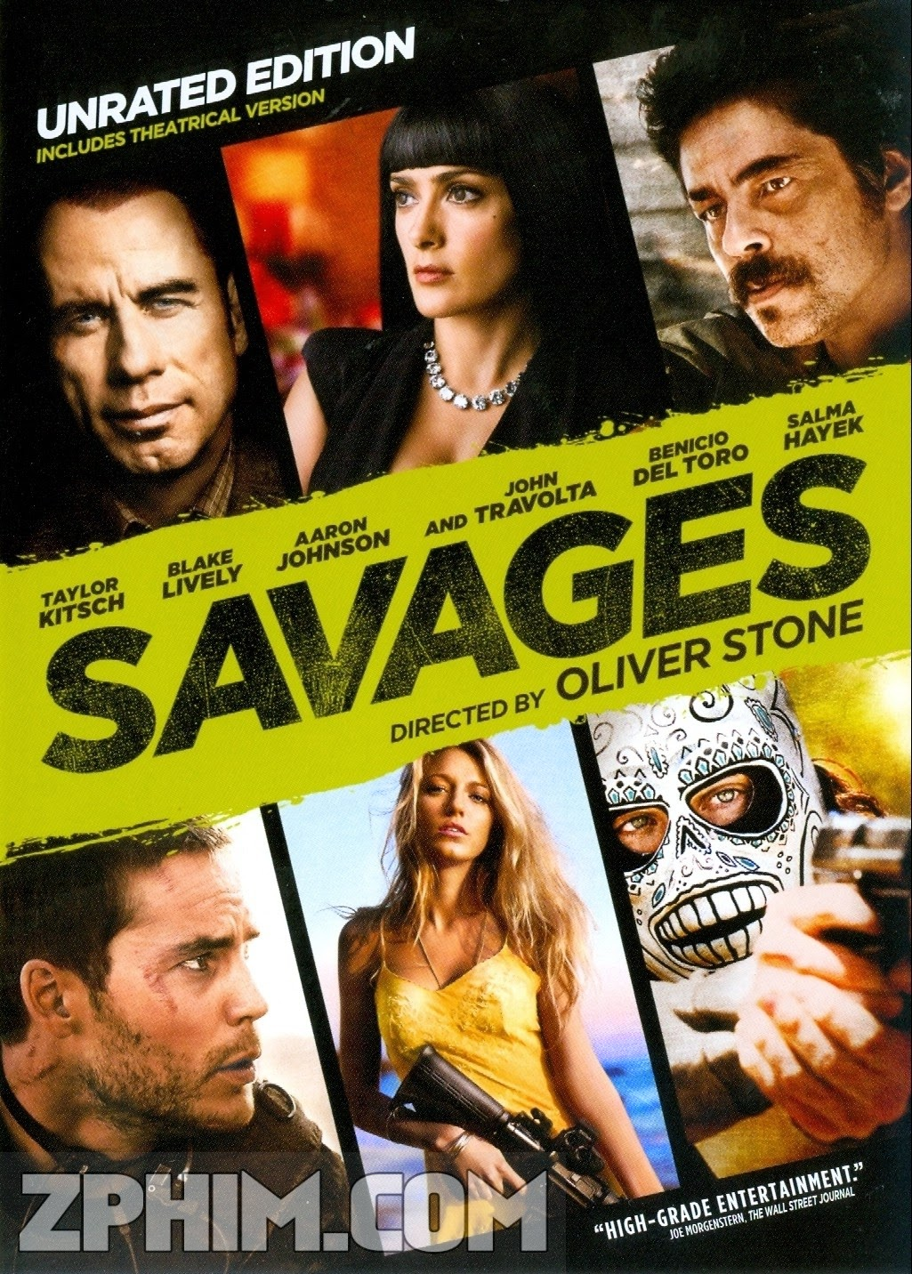 Những Kẻ Man Rợ - Savages (2012) Poster