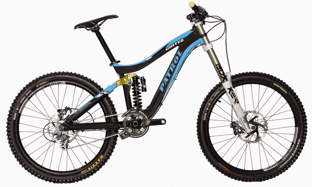 Bike News, New Bike, New Downhill Bike, New Product, united patrol 781, united patrol 871, patrol 871 dh, patrol dh team 2015