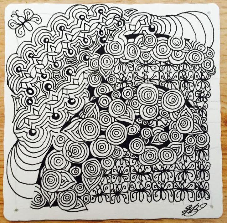 Tickled To Tangle Its A String Thing 107 Tiles