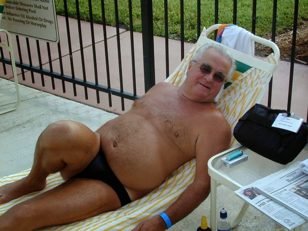 Grandpa Gay Cock Pissing