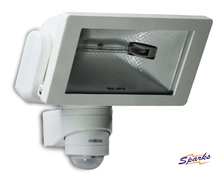 The HS300W Steinel Enclosed Halogen with PIR