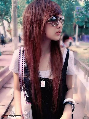 Woman Long Hairstyle