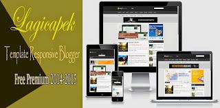 Lagicapek Template Responsive Blogger Keren