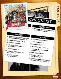 Avengers Standoff Checklist