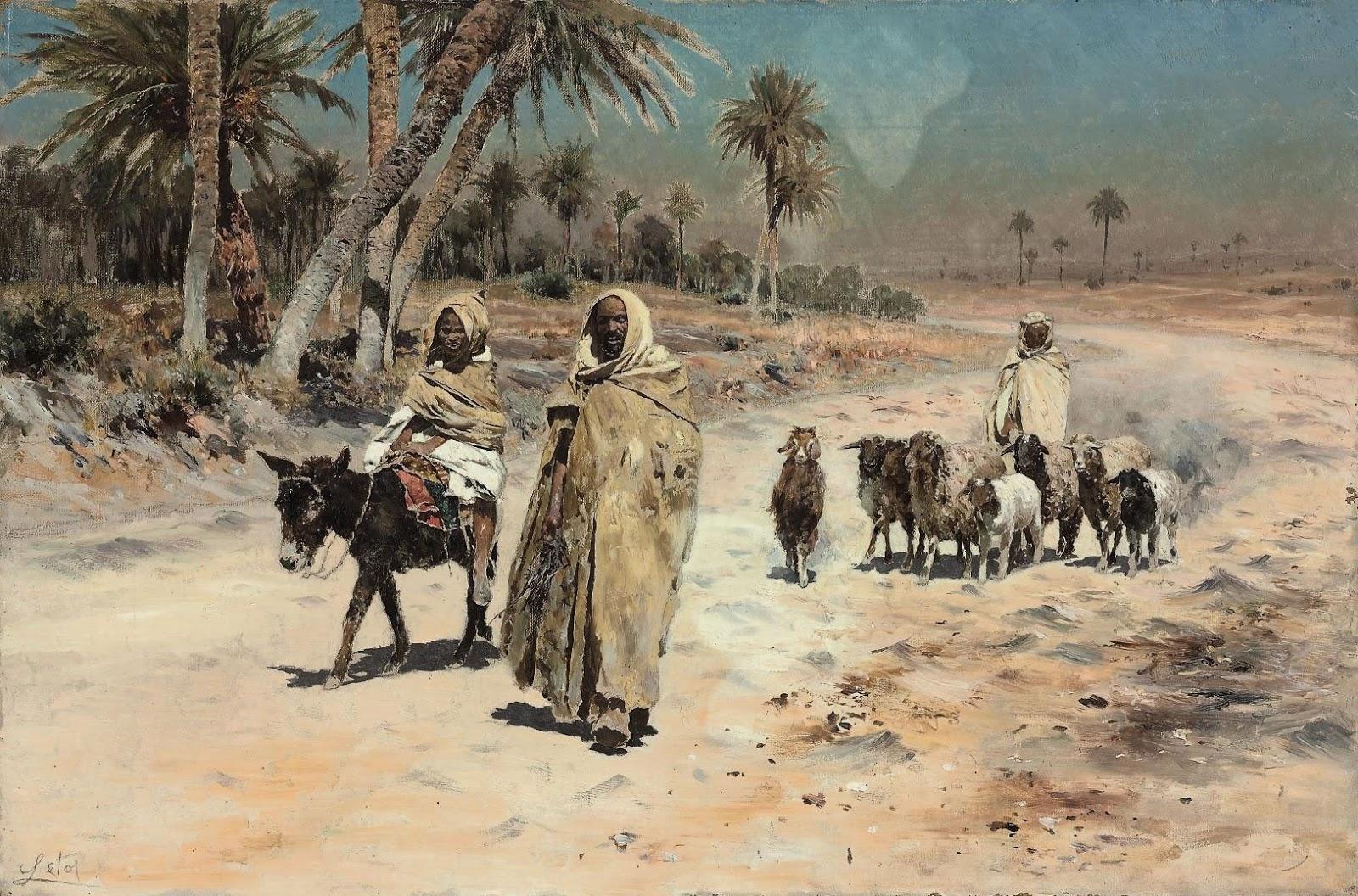 Antonino Leto Arab sheep herders