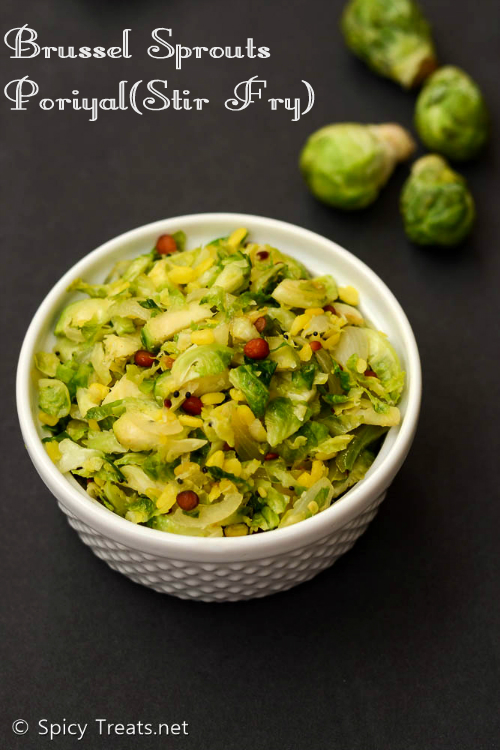 Brussel Sprouts StirFry
