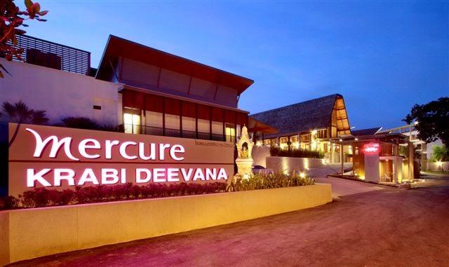 Mercure Krabi Deewana Hotel, Krabi, Thailand