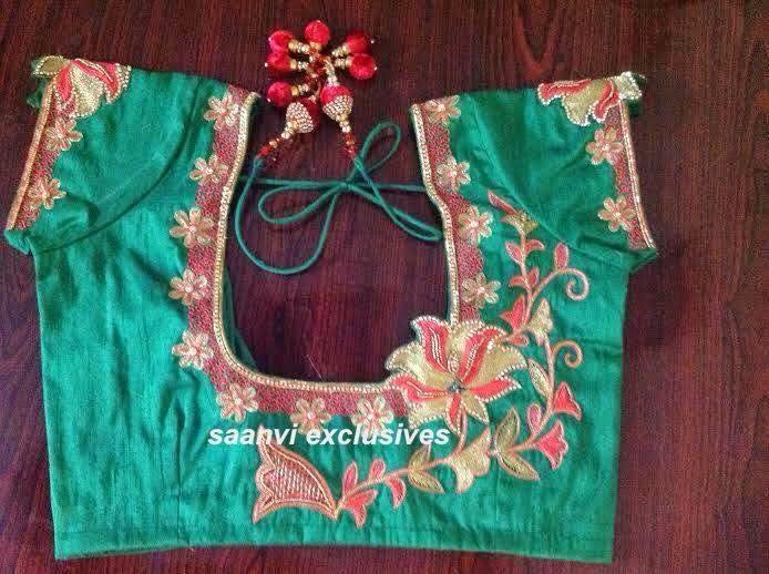 Bridal Designer Blouses by Saanvi
