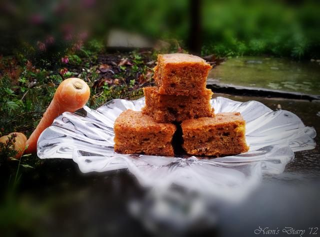 Carrot Cake ... Scrummy & Yummy