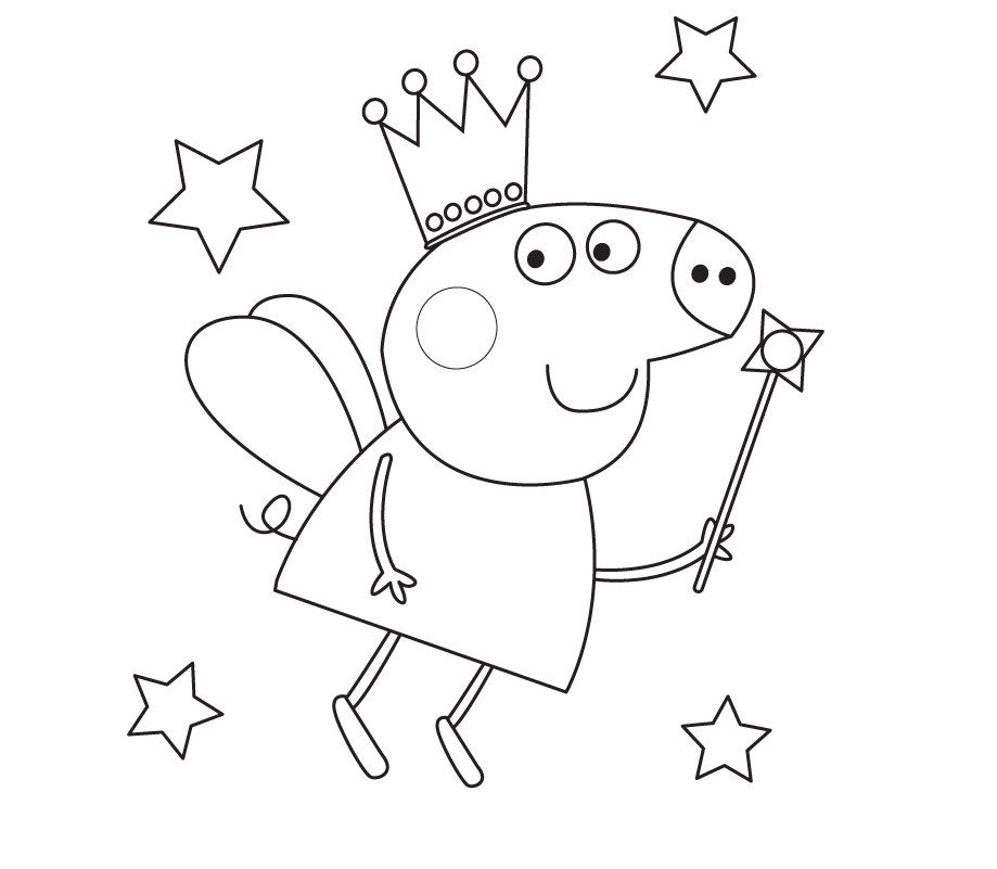 peppa pig clip art. download peppa pig coloring in pages free or pri ...