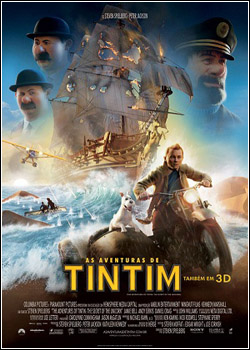 asavtintin Download As Aventuras de Tintin: O Segredo do Licorne   DVDRip   Dual Áudio e Dublado