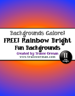 Free Rainbow Bright Clip Art Backgrounds for Commercial Use