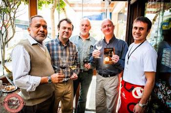 Apresentação dos vinhos da Vinicola Abreu Garcia!!