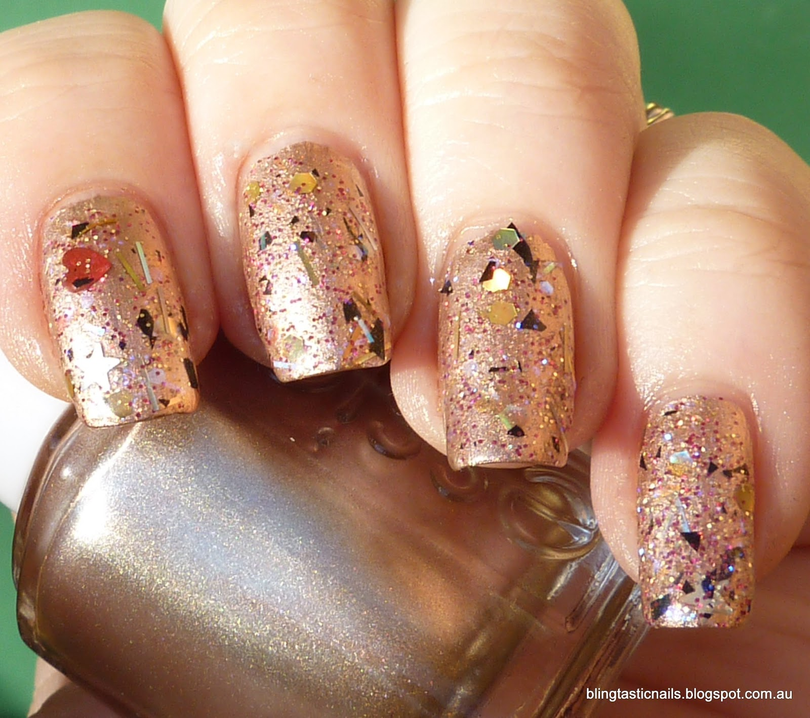 Jas\'s Blingtastic Nails: Essie Penny Talk with Enchanted Polish ...