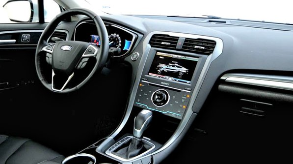 novo Ford Fusion 2014 interior
