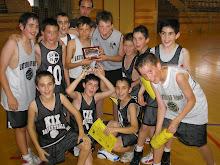 Campeones MiniBasket Badajoz 2008-09