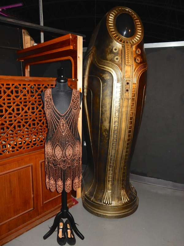 Clara Oswald costume sarcophagus Doctor Who Mummy on the Orient Express