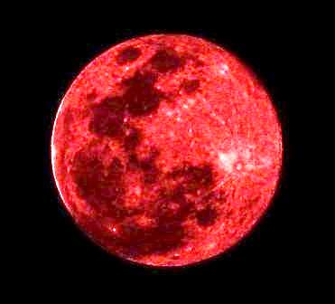 gambar Blood Moon