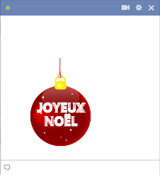 Joyeux Noël Emoticon