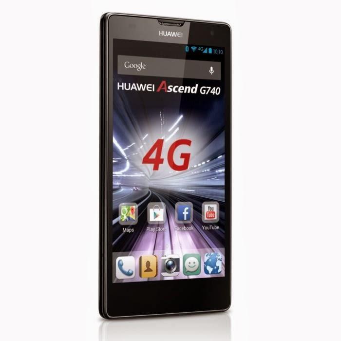 Huawei Ascend G740 Noir 4G Comparaison smartphone