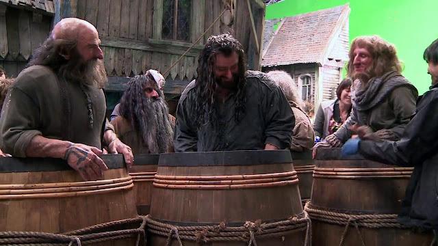 filming The Hobbit