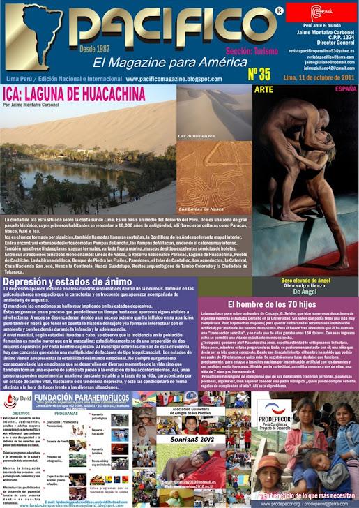 Revista Pacífico Nº 35 Turismo