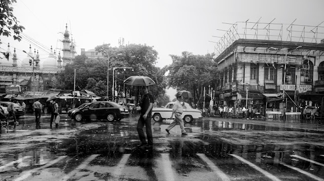 A rainy morning in Calcutta. Panasonic G1