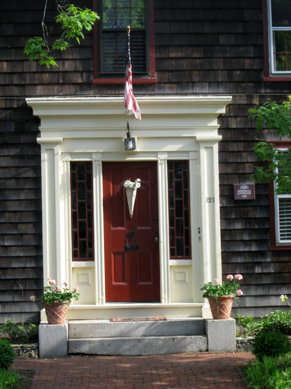The Doors of Wickford Rhode Island - Part 2 & The Northeast House Historian: The Doors of Wickford Rhode Island ...