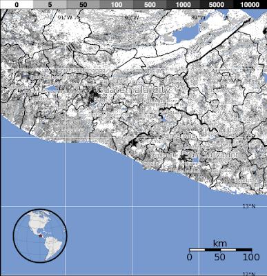 Sismo de 5,8 grados sacude  El Salvador, 27 de Junio de 2012