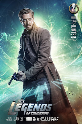 DC's Legends of Tomorrow Character Television Poster Set - Arthur Darvill as Rip Hunter