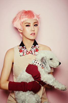 Gayoon 4minute Ceci Magazine October Issue 2013
