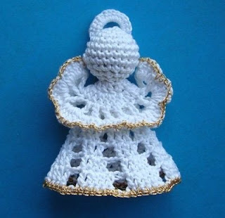 angeles navidad crochet