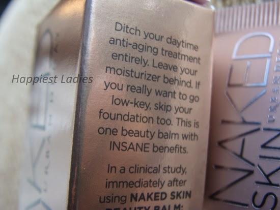 UD Beauty Balm Naked Skin