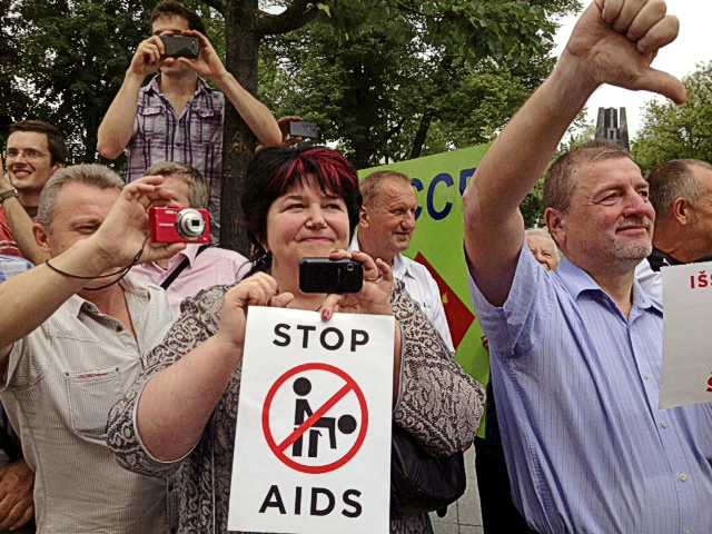 LITHUANIA: Hundreds Of Anti-Gay Protesters Disrupt Baltic Pride Parade