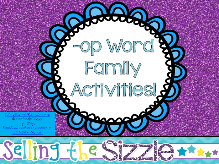 http://www.teacherspayteachers.com/Product/-op-Word-Family-Activities-1241819
