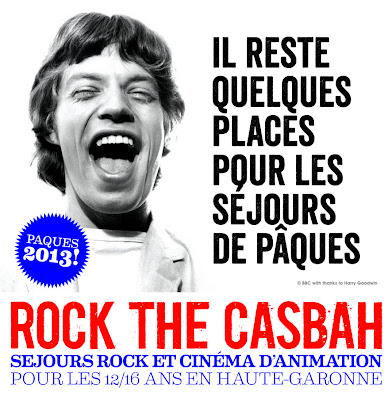 colonies de vacances musicales Rock The Casbah
