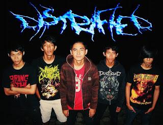 Distrified Band Deathcore Banjarbaru Kalimantan Selatan Indonesia Foto Images Cover Logo Wallpaper