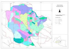 Peta Petak Dusun Salak
