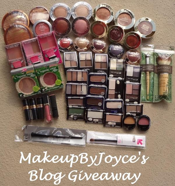 MakeupByJoyce's Giveaway