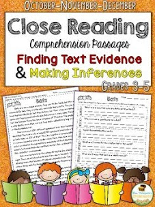 Close Reading {Oct-Nov-Dec}