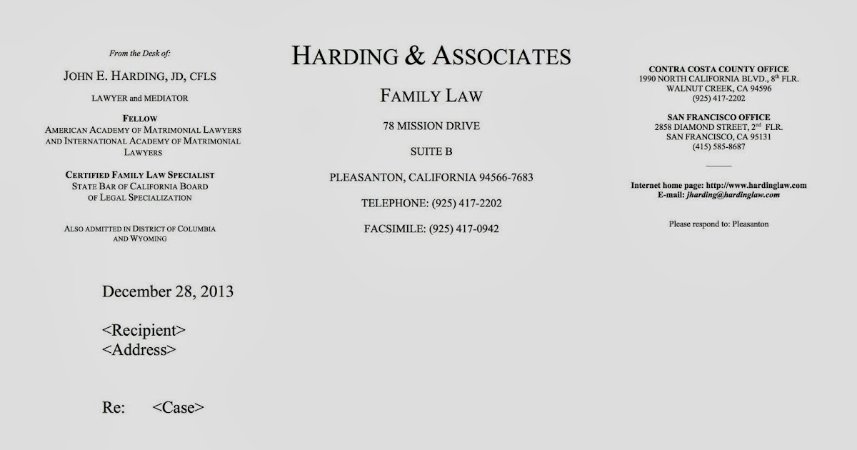Family Law Lawyer Tech & Practice: Branding and Letterhead
