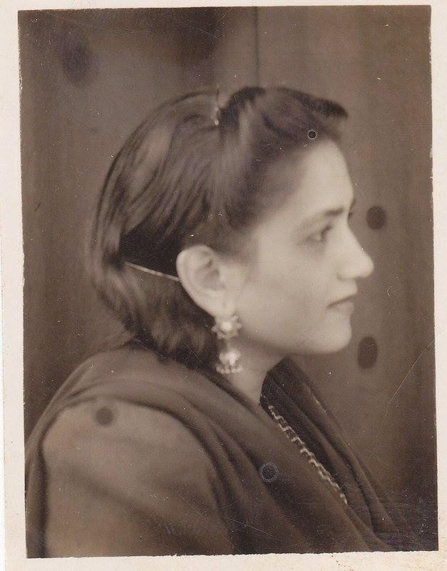 Portrait of Pakistani Urdu Poet Ada Jafri - c1940's