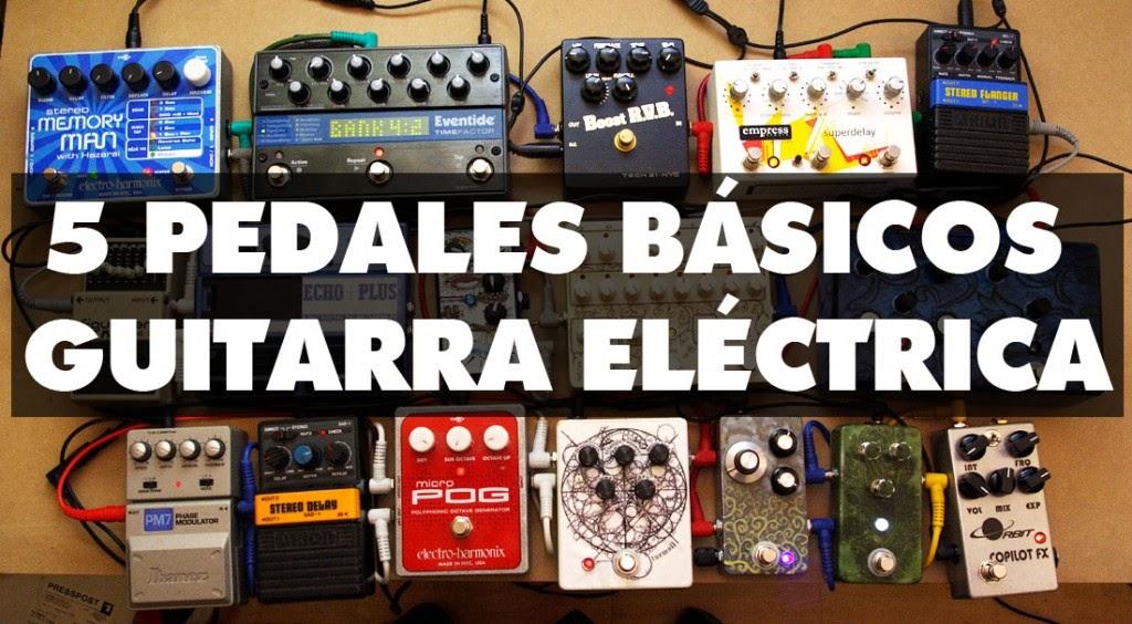 Efectos Pedales Guitarra