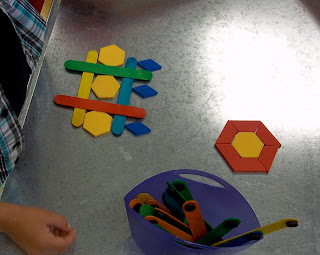Magnetic sticks and shapes
