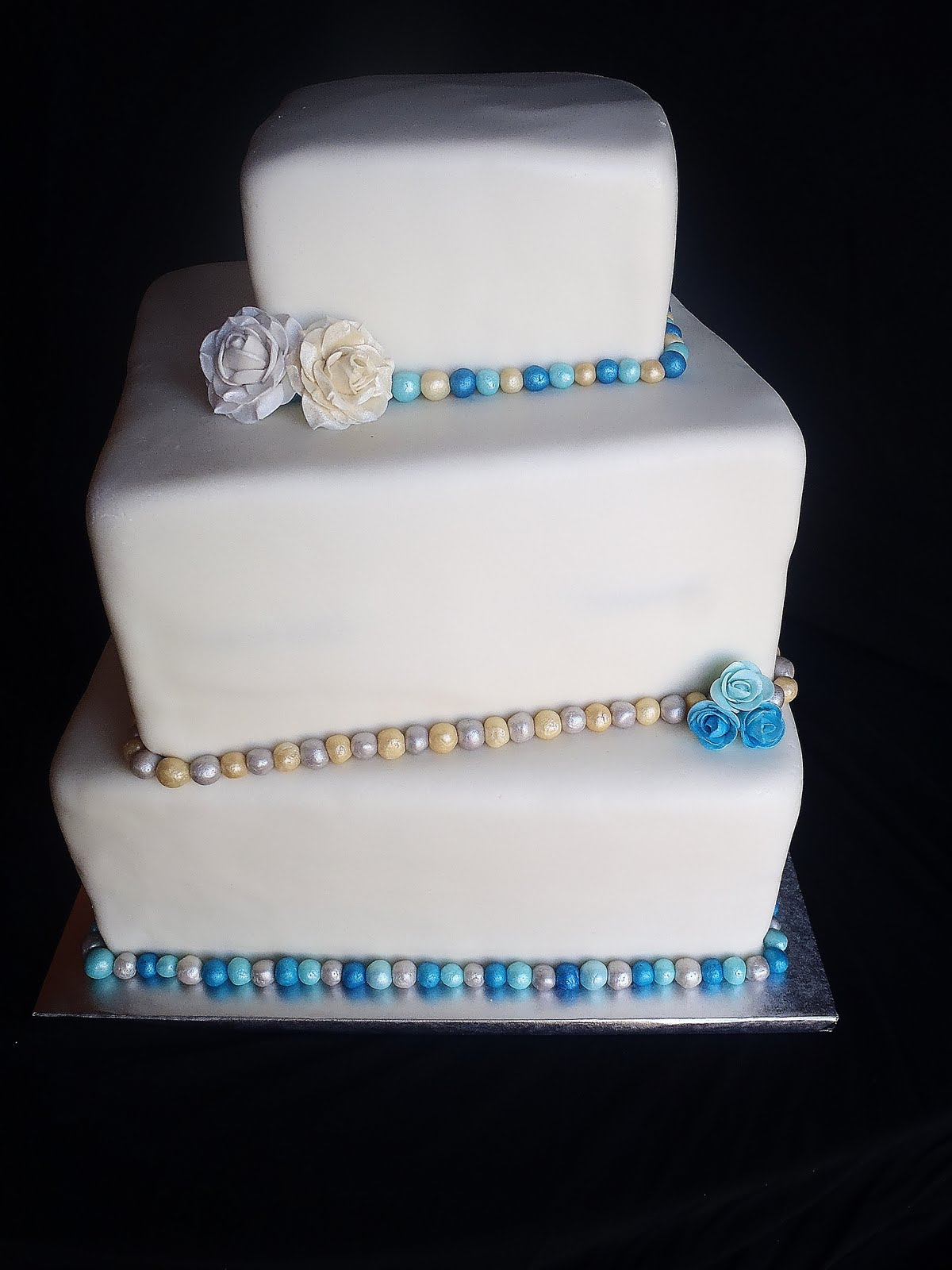Simply Delicious Cakes: 60th Wedding Anniversary
